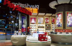 Examples of our previous work on solid surface and thermoforming projects for retail establishments.
