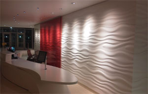Sculptcor® - Textured Thermoformed Panels for Walls, Ceilings, Furniture, and More