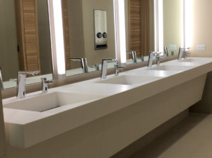 Everything Including The Bathroom Sink Solid Surface