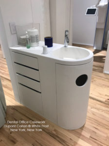 Dupont Corian Dental Office Casework