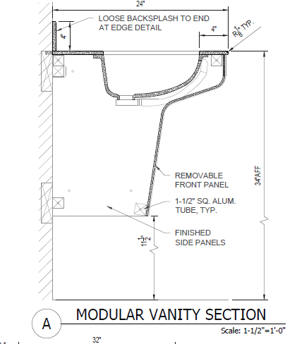 Modular Vanity System™