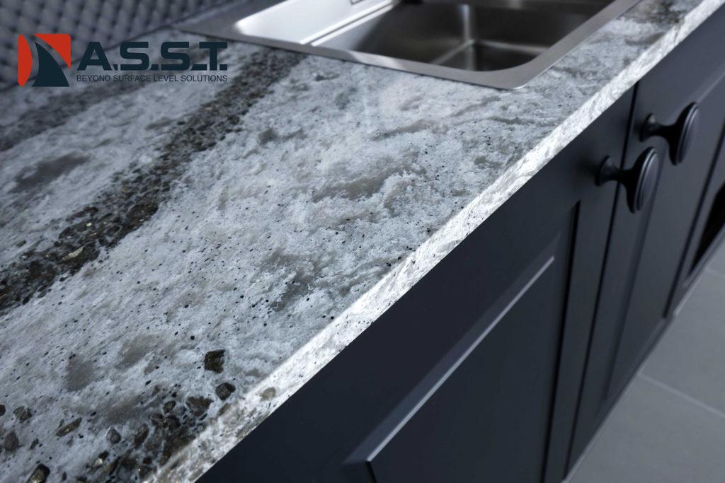 senior living with quartz countertops